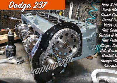 Dodge 237 Engine Rebuild Machine Shop
