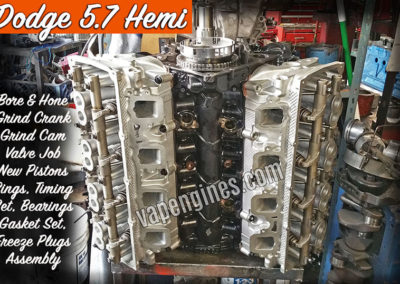 Dodge 5.7 Hemi Engine Rebuild Machine Shop