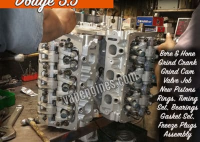 Dodge 3.5 Engine Rebuild