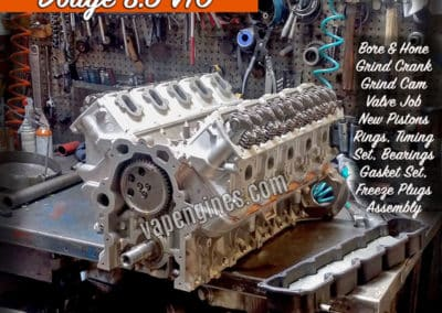 Dodge 8.3 V10 Engine Rebuild
