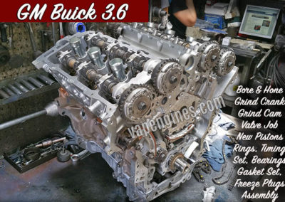 GM Buick 3.6 Engine Rebuild