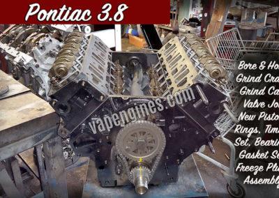 Pontiac 3.8 Engine Rebuilding