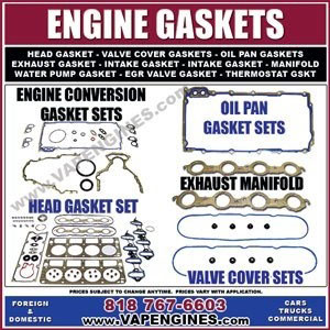 Engine rebuild gaskets