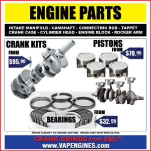 Engine rebuild auto parts store