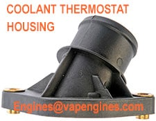 Auto coolant thermostat housings