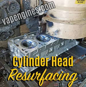 Cylinder head resurfacing