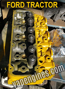 Ford tractor 3 cylinder valve job