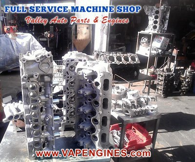 Aluminum and Cast Iron Valve job machine shop