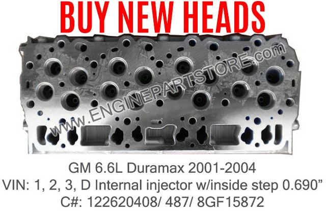 Buy New Cylinder Heads