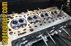 Valve Job for cylinder head repair