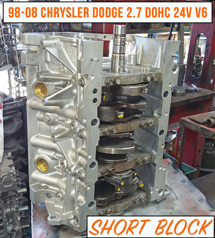 product chrysler sale remanufactured engine chyrsler block dodge for dohc short