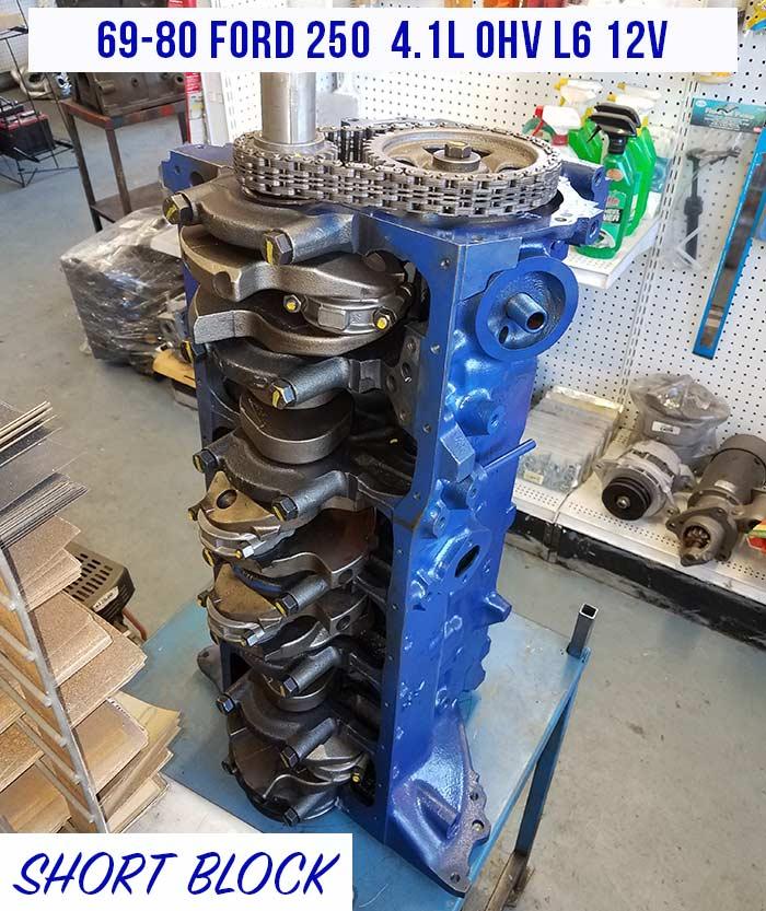 Ford L Short Block Engine Sale on Nissan Straight 6 Cylinder Engines