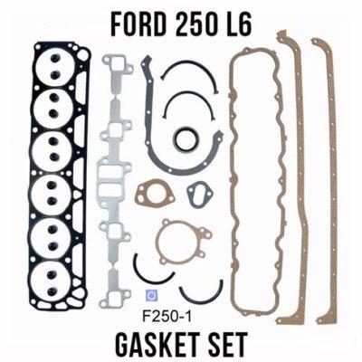69-80 Ford 250 Straight-6 full gasket set