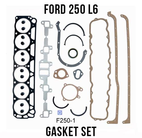 69-80 Ford 250 Straight-6 full gasket set