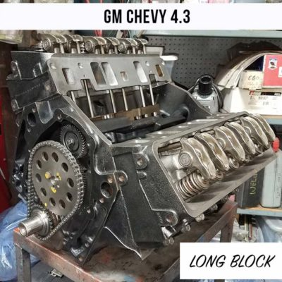 Remanufactured Chevy GM 4.3 engine for sale