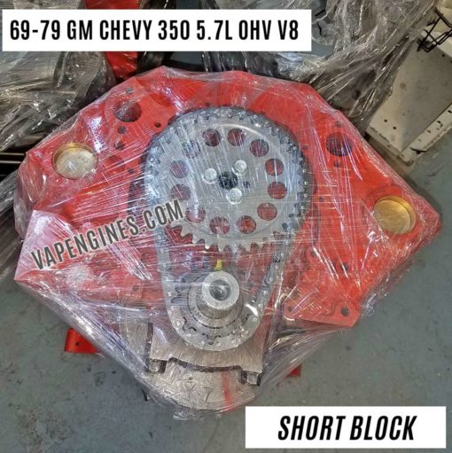 GM Chevy 350 Short Block Engine for Sale