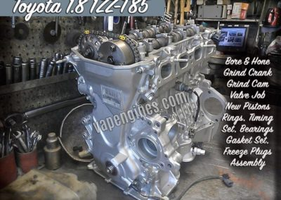 Toyota 1.8 Engine Rebuild shop