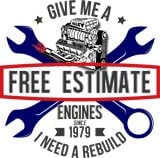 Price Cost estimate on engine rebuild- Free estimate