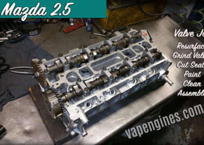 Mazda 2.5 Auto Engine Valve Job