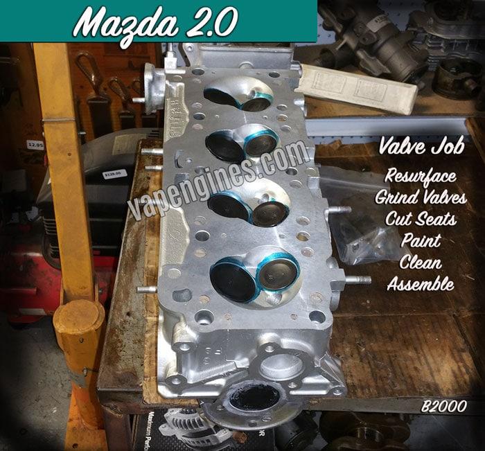 Mazda Engine Gallery- Mazda Engine Builder Machine Shop Services