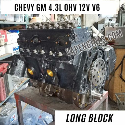 Reman Chevy GM 4.3 engine for sale