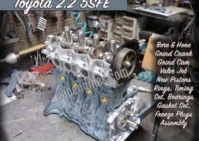 Toyota 2.2 5SFE Engine Rebuild shop