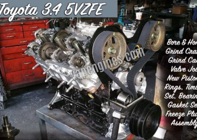 Toyota 5VZ Engine Rebuild Shop