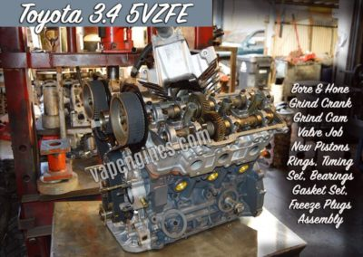 Toyota 5VZFE Engine Rebuild Auto Shop