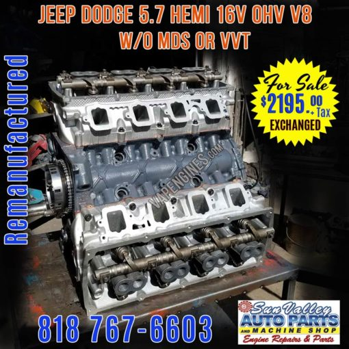 Chrysler Dodge Jeep 5.7 Hemi Engine for Sale