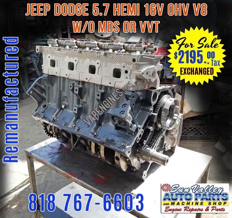 Dodge Hemi Engine