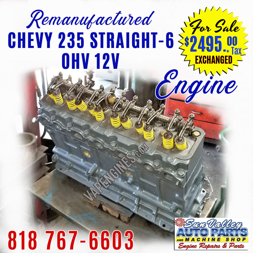 Chevy Ohv V Straight Engine For Sale on Nissan Straight 6 Cylinder Engines