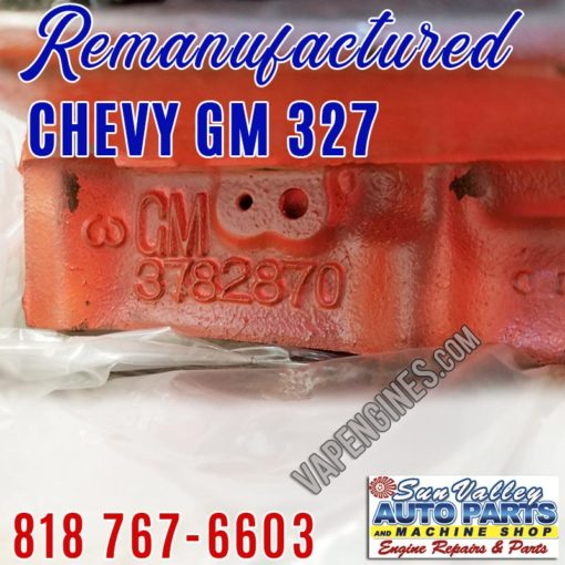 Chevy 327 casting number 3782870