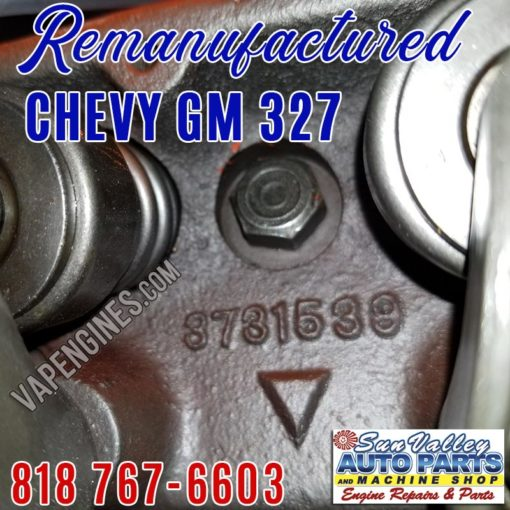 chevy 327 cylinder head 3731539