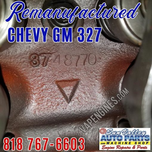 Chevy 283 head 3748770