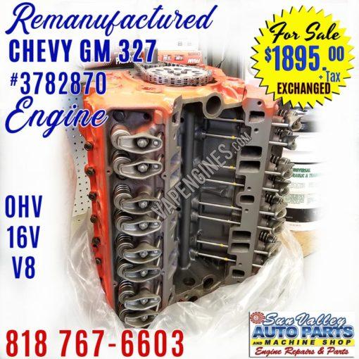 chevy 327 engine id F0104SC