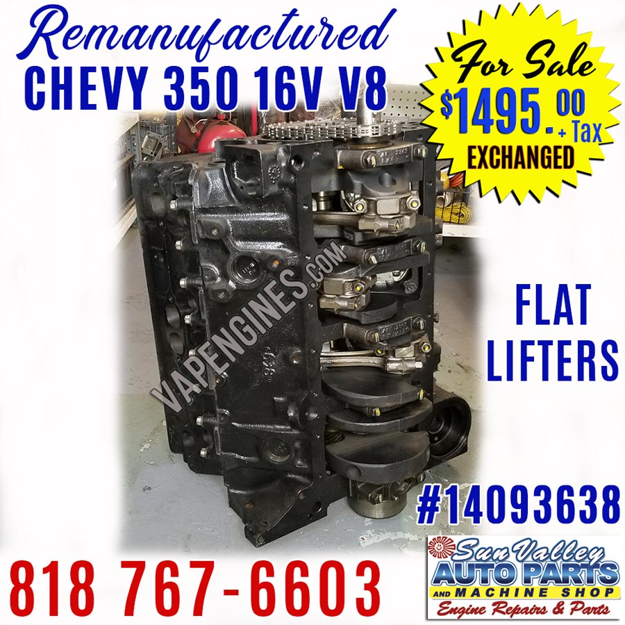 Chevy 350 Engine For Sale Remanufactured
