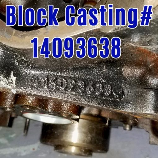 Chevy 350 casting 14093638