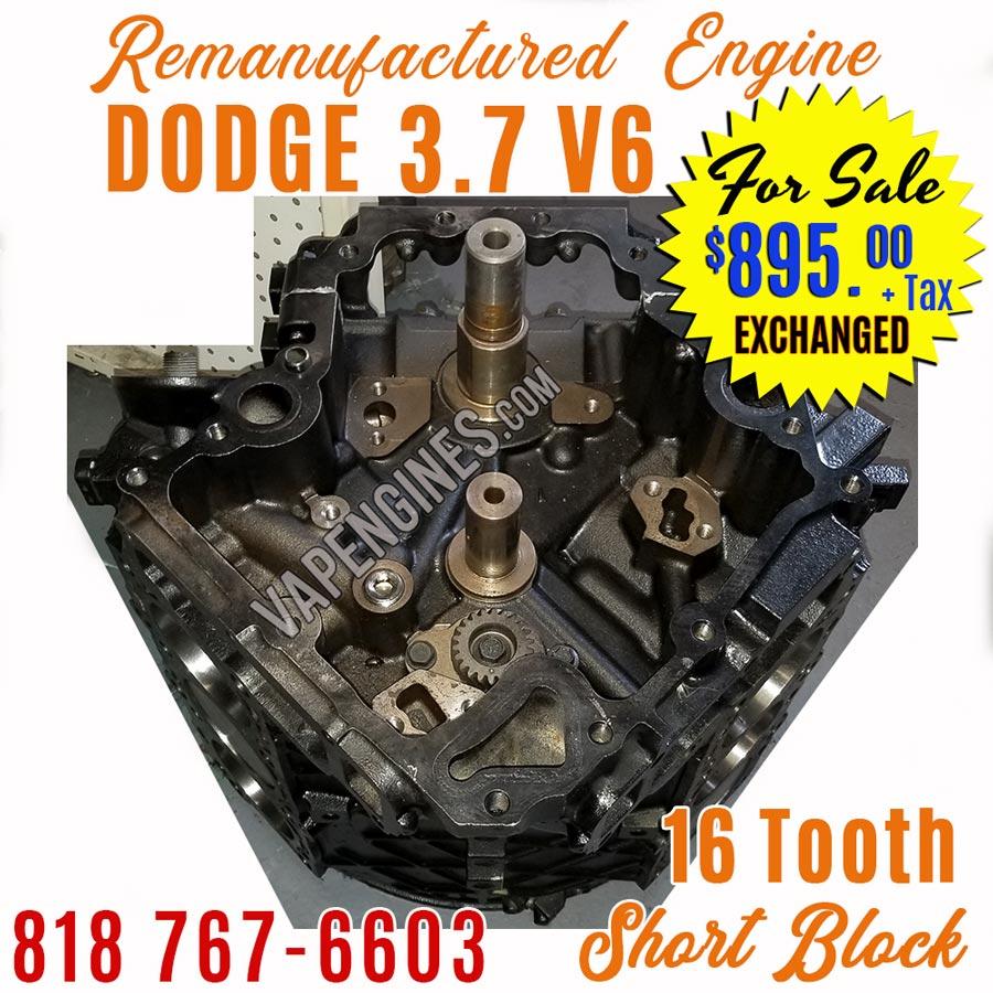 dodge 3.7 engine