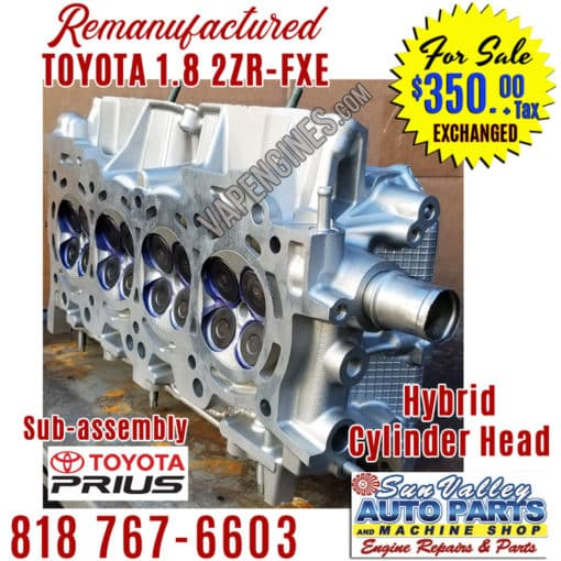 2010-2015 Toyota Prius 1.8 2ZRFXE head for sale