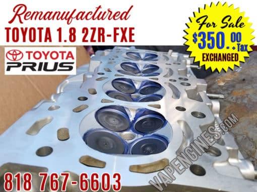10-15 Toyota 1.8 2ZRFXE cylinder head resurface